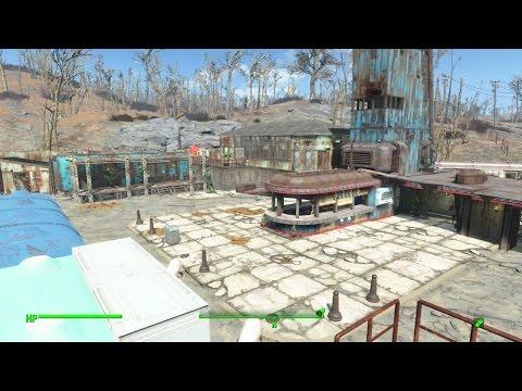 Fallout 4 Settlement Tour - The Slog (No Mods) - смотреть