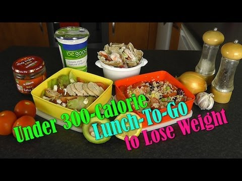 Video Under 300 Calorie Lunch-To-Go (Weight Loss Recipes)