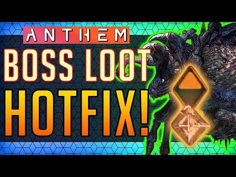 Anthem | LOOT HOTFIX IS LIVE! 1.0.4. Update #Anthem