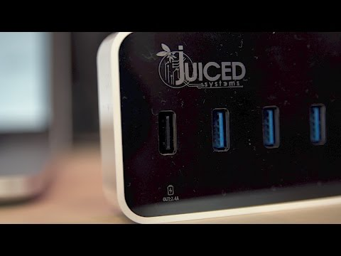 Juiced Systems 6+1+1 USB Hub Review