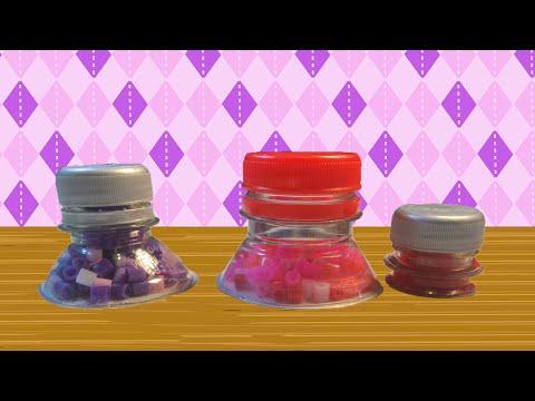 Knutseltip: potje knutselen van een plastic fles.