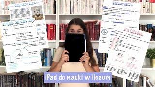 IPAD ZAMIAST ZESZYTU DO NAUKI W LICEUM (informacje/notatki/pytania)||ŁapChwile|| back to school