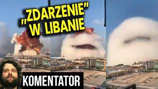 """""""Incydent"""" w Bejrucie w Libanie – Mówią, że to NAWÓZ a Wygląda na Robotę Izraela Analiza Komentator"""