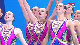 Кванджу 2019. Сборная России по синхронному плаванию. Техническая группа.