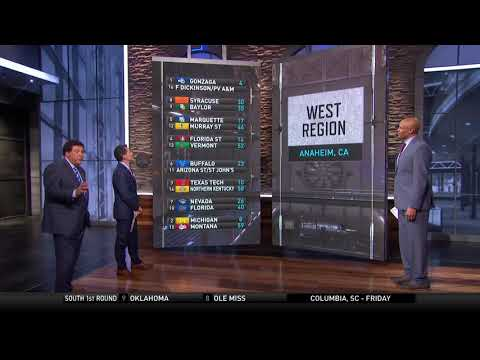 2019 March Madness: Seth Davis, Clark Kellogg break down the NCAA Tournament bracket (видео)
