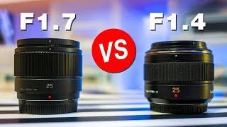 Panasonic 25mm f1.7 vs f1.4 Leica Lens 📷 BOKEH BATTLE 🔥 Review & Photo Comparisons G85 4K