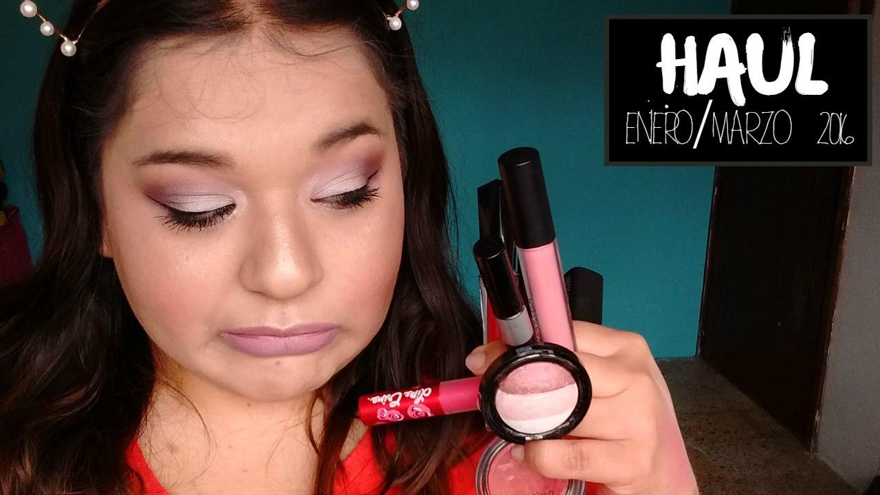 Haul - Compras Acumuladas Enero/Marzo 2016 - Demelza Makeup