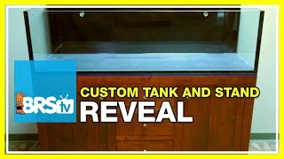 Week 2: Unveiling the tank and custom built stand | 52 Weeks of Reefing #BRS160
