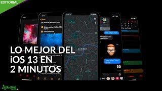 iOS 13 en DOS minutos: modo OSCURO, mapas y edición de fotos