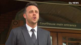 Ant McPartlin apologises after driving more than twice the legal alcohol limit | ITV News