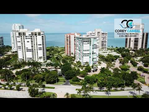 Park Shore High Rise Identification Real Estate Flyover in Naples, Florida