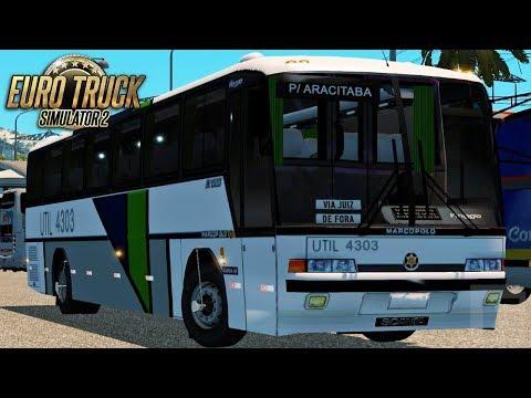 Euro Truck Simulator 2 - Bus | Util - São Paulo/Aracitaba - Viaggio GV 1000  - 1080/60fps
