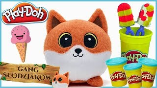 Play Doh & Przygody Gang Słodziaków •  Lis Lucek i desery lodowe • bajki dla dzieci