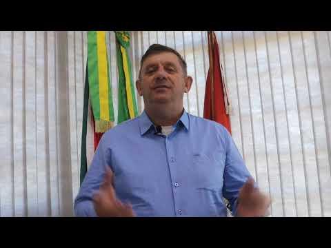 Mensagem do prefeito Sergio Antonio Lasch à todos os trabalhadores neste  1º de maio