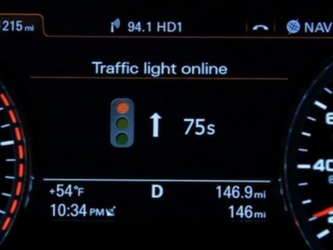 A Traffic Signal Inside Your Car's Dash