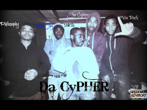 LayOutGang ft Philosophy - #DaCypher (Vin Rock Philosophy 50 Kilo DameJay Joe Cypher)