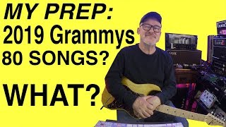 Grammy Awards 2019 | Pre-show | Learning 75-80 songs | Tim Pierce | Guitar Lesson