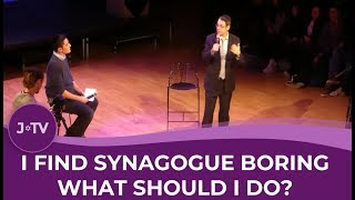 WATCH: Find synagogue boring? Here's what to do…