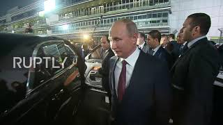 Russia: Putin drives el-Sisi around Sochi
