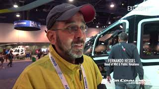 Fernando Hessel fala da importância da presença da Air Commander Aerospace na HAI Heli Expo 2018