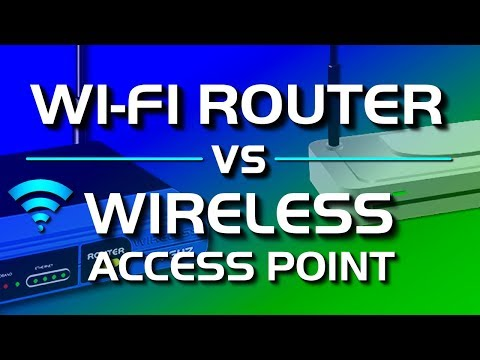 Wireless Access Point vs Wi-Fi Router