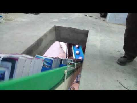 Industrial Box Transfer Conveyor