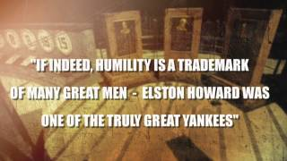 Monument Park Plaques: Elston Howard