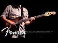 FENDER American Deluxe Dimension Bass V HH video