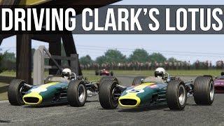 What's It Like Driving Jim Clark's Lotus 49?