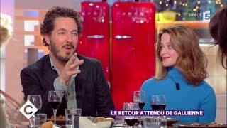 Guillaume Gallienne Et Adeline D'Hermy Au Dîner - C à Vous - 09/11/2017