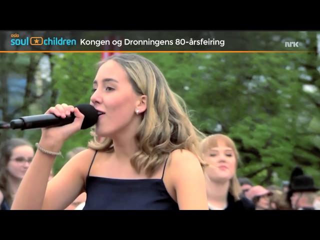 Oslo Soul Children på Slottsplassen