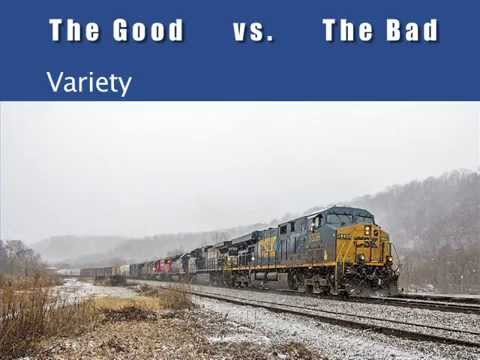 Life As A Railroad Engineer.  What it is like to work for a railroad.