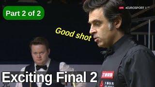 Ronnie O'Sullivan vs Shaun Murphy | Best Frames | 2019 Shanghai Masters Final Part 2