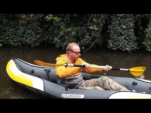 Testing the Sevylor Colorado Kayak