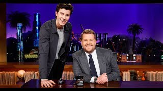 Shawn Mendes And James Corden Funny Moments