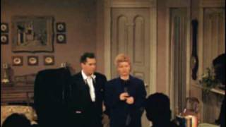 I Love Lucy   On Stage Color Footage (1951)
