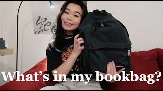 What's in my bookbag? (EASTPAK Padded Pak'r)
