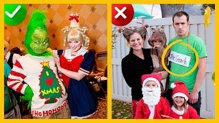 Los 15 PEORES DISFRACES DE NAVIDAD (Santa Claus y MAS PERSONAJES NAVIDEÑOS)