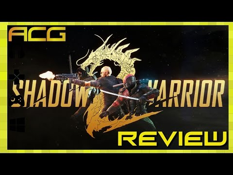 """Shadow Warrior 2 Review """"Buy, Wait for Sale, Rent, Never Touch - YouTube video thumbnail"""