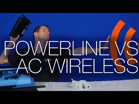 Choose Powerline Adaptors For Distance, Wireless AC For Speed