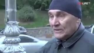 Ватный журналист попробовал взять интервью у мужчины из Донецка Смотрим что из э