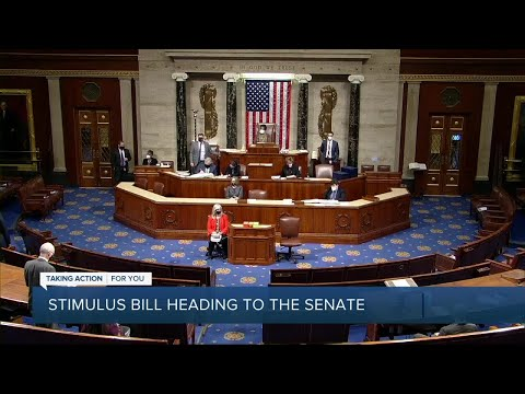 Stimulus bill heading to the Senate