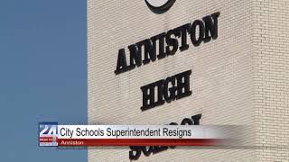 Anniston City Schools Superintendent Resigns