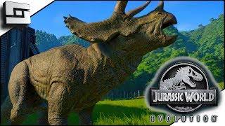 Jurassic World Evolution! Our First Dinosaur Park! Ep 1  Part 1