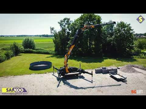 Bg Lift CWE315 MINIKRAN | COMPACT KRAN | BGLIFT