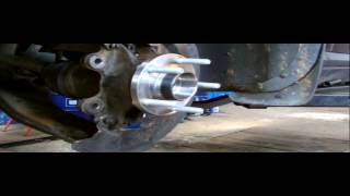 FORD FOCUS FRONT AXEL WHEEL BEARING REPLACMENT.PART 2.