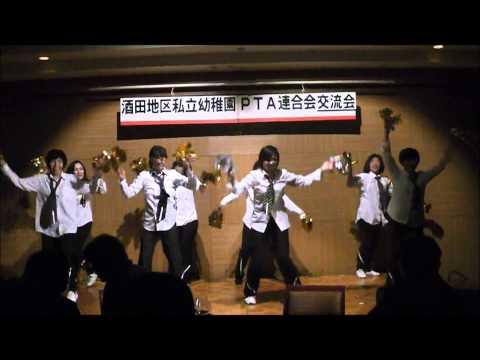保護者の余興(園紹介)〜2014-1-18若草幼稚園〜