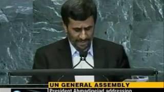 Выступление Махмуда Ахмадинежада на 65-ой сессии ГА ООН