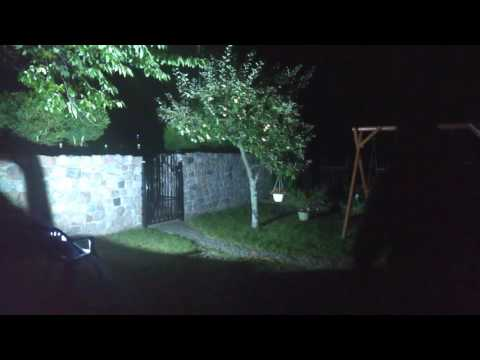 Test halogenu LED 50W