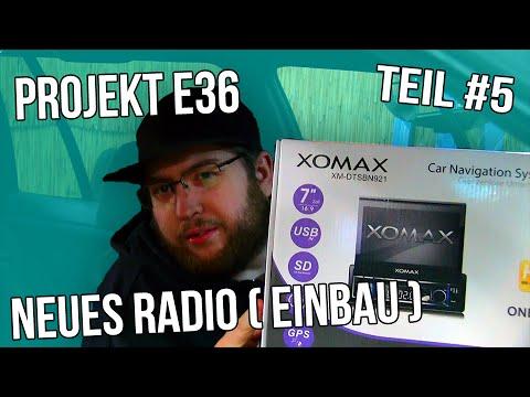 Projekt E36 Teil #5 | NEUES RADIO ( Einbau ) [German/Deutsch]
